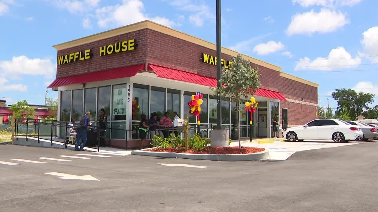Pass the syrup: Iconic Waffle House opens first Miami-Dade...