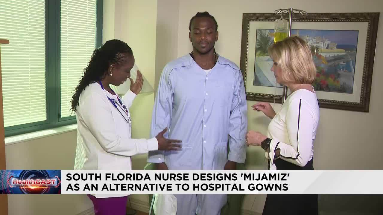 Broward Health nurse designs hospital gown that gives patients...