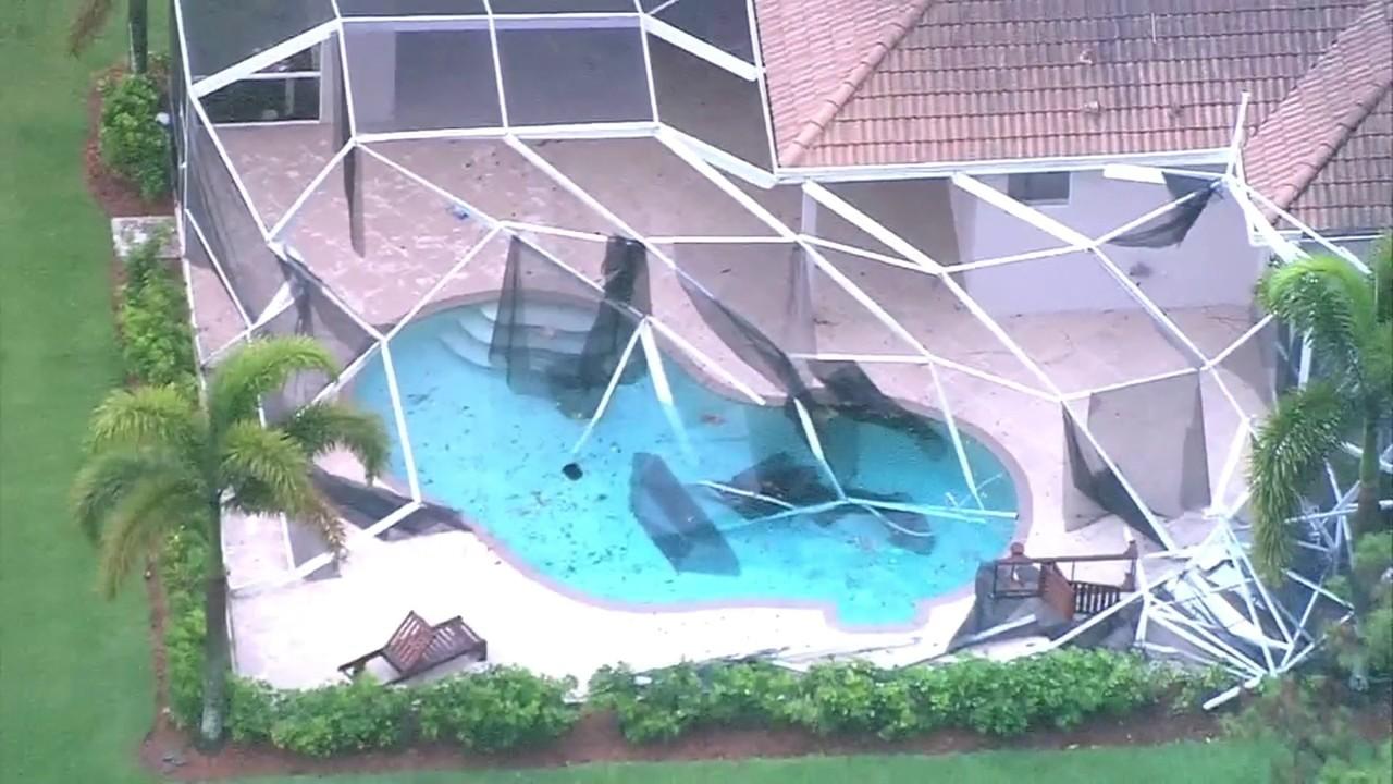 Tornado touches down in palm beach county - Weather palm beach gardens florida ...