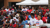 Hundreds of Haitians celebrate Haitian Flag Day