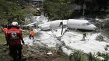 Private Gulfstream jet crashes in Honduras