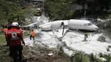 Private Gulfstream jet crashes in Honduras