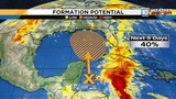 National Hurricane Center gives system near Gulf 40 percent chance of&hellip&#x3b;