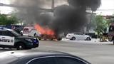 1 injured in fiery car crash in Tamarac