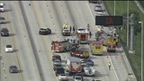 Vehicle that caused crash that injured construction worker on I-95 fled&hellip&#x3b;