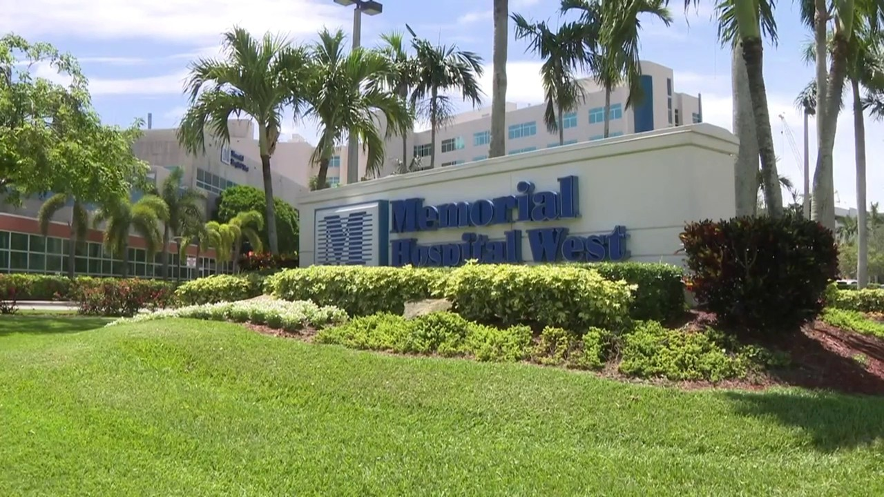 Doctor punches man at memorial hospital west police say Doctors medical center miami gardens