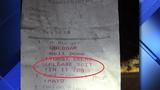 Restaurant receipt asks chef to 'spit' in customer's cheeseburger