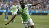 Musa scores twice to give Nigeria 2-0 win over Iceland
