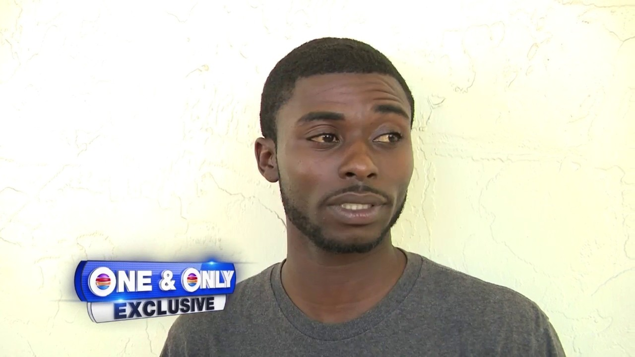 Man speaks to Local 10 News after girlfriend leaves him.