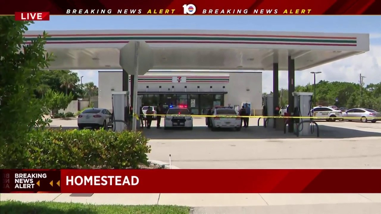 Woman Shot During Robbery At 7 Eleven In Homestead