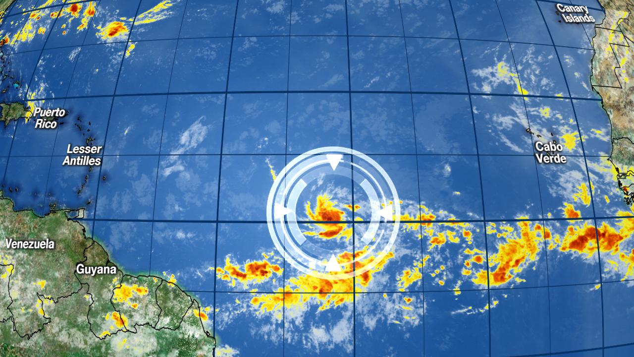 Miami Beach Weather Satellite