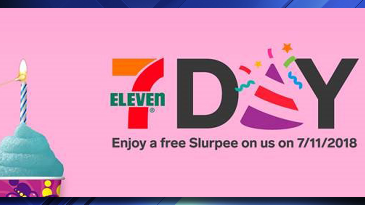 Get A Free Slurpee On 7 11 Day At 7 Eleven