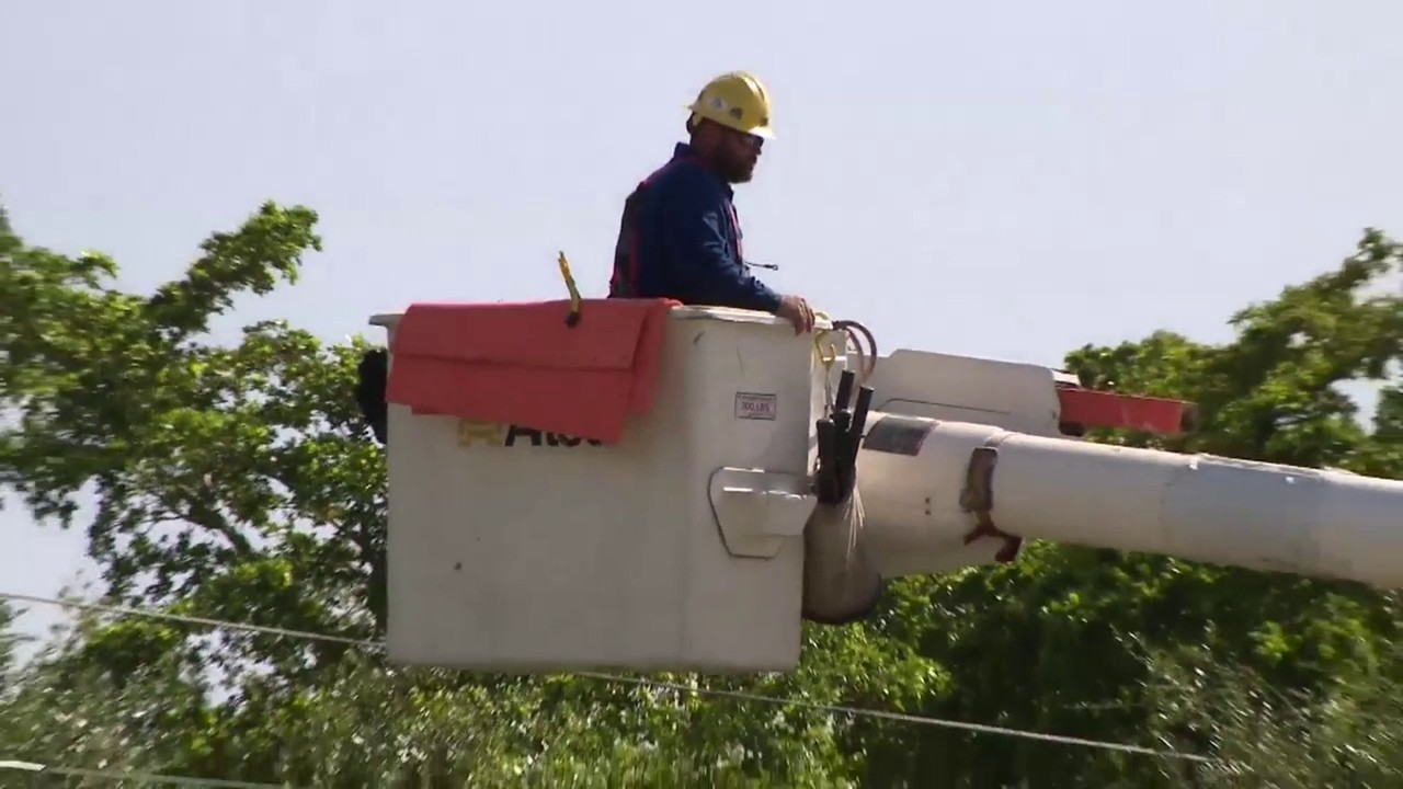 Subcontractor Working On Power Lines Nearly Struck By
