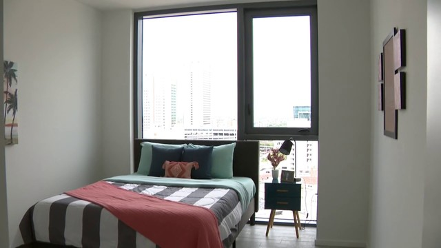 X Miami Offers Dormstyle Housing For Downtown Renters Interesting One Bedroom Apartments Near Fsu Style Decoration