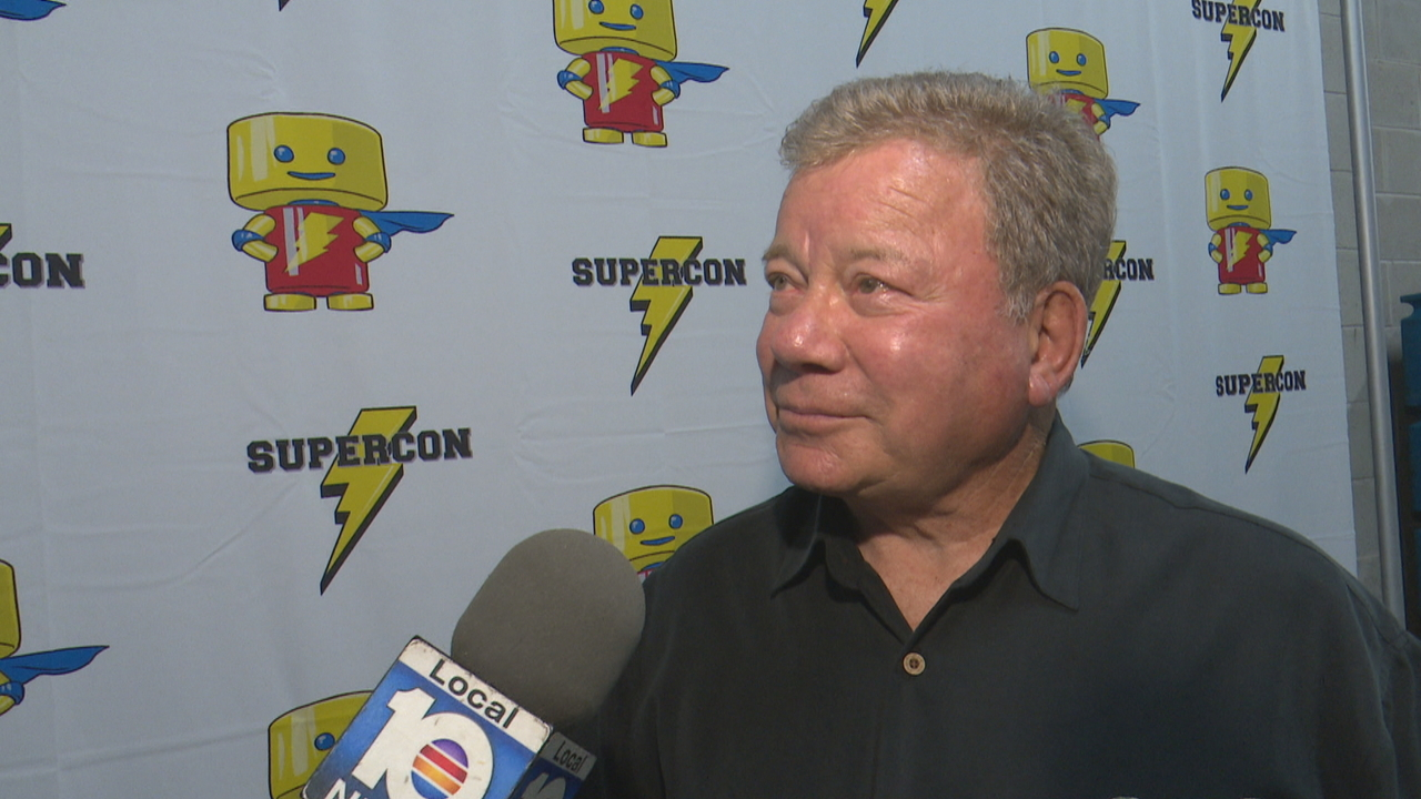 William Shatner wants you to boldly go to Florida Supercon