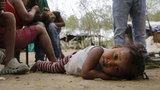 Children fleeing Venezuela left hungry, sick and even abandoned
