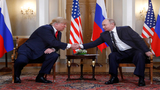 Trump, Putin go 1-on-1 during Helsinki summit