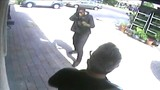 Armed carjacking caught on camera outside Miami business