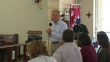 Local 10 News reporter Michael Putney hosts Democratic primary debate