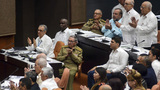 Cuba approves new leader's Cabinet with old faces in place
