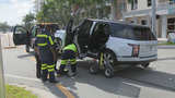 2 men abandon stolen Ranger Rover after Fort Lauderdale crash