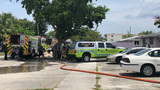 Fire at North Miami apartment building displaces 10 families