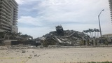 At least 1 injured in Miami Beach building demolition