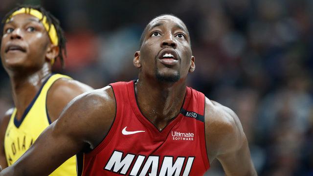 Heat pick up option on Bam Adebayo