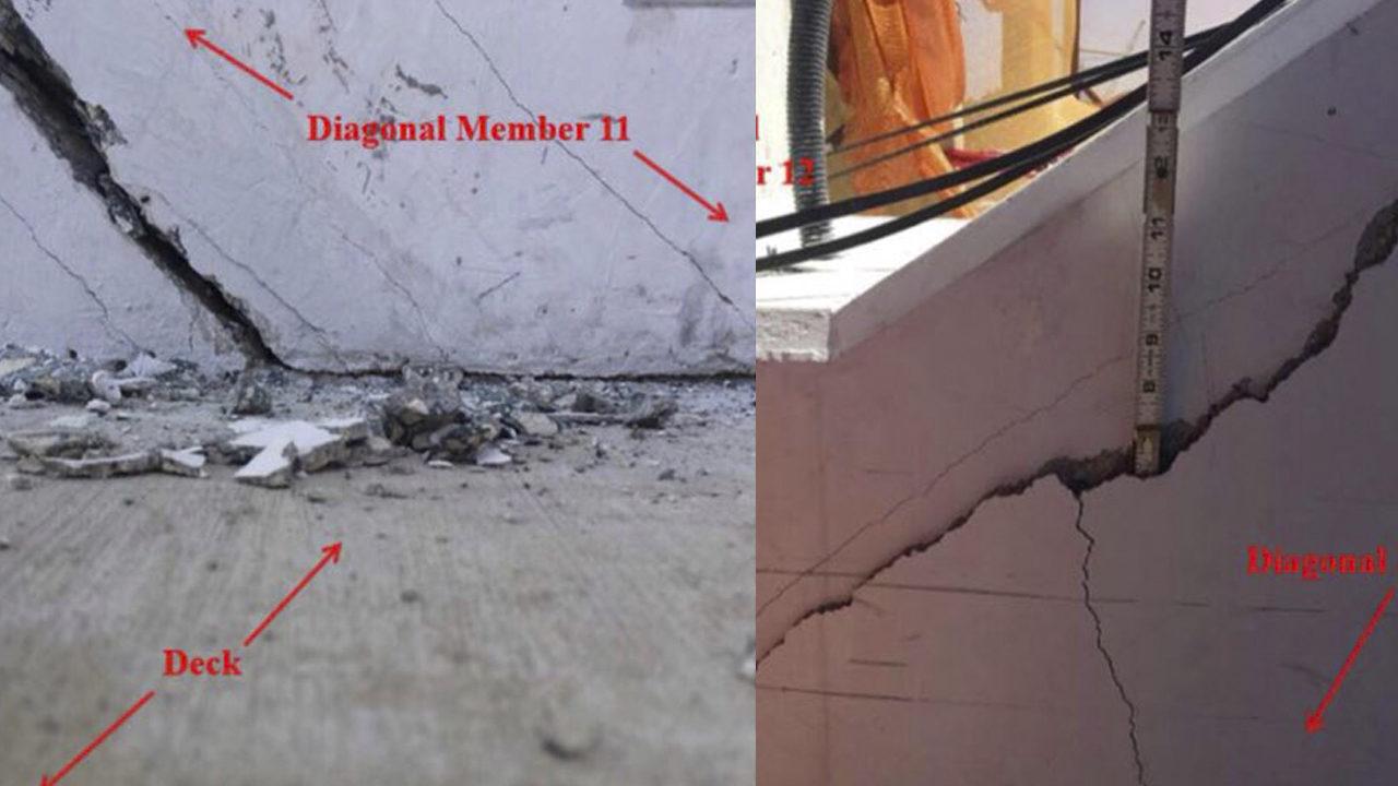 Photos show cracks in FIU bridge grew before tragedy