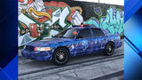 City of Miami police car gets colorful makeover