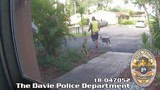Police searching for man who stole dog from Davie home