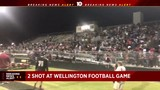 Two shot at high school football game in Wellington, deputies say