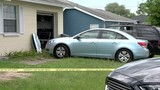 Baby dies after left in hot car in front of home
