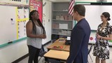 Miami-Dade superintendent tours school ahead of start of classes