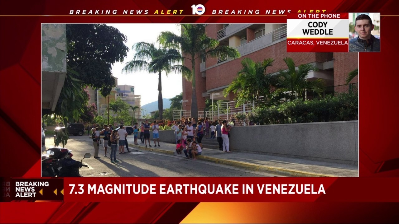 Major earthquake impacts Venezuela