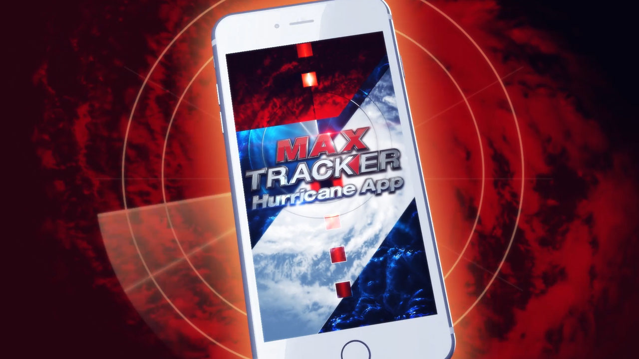 Download the FREE Max Tracker Hurricane app