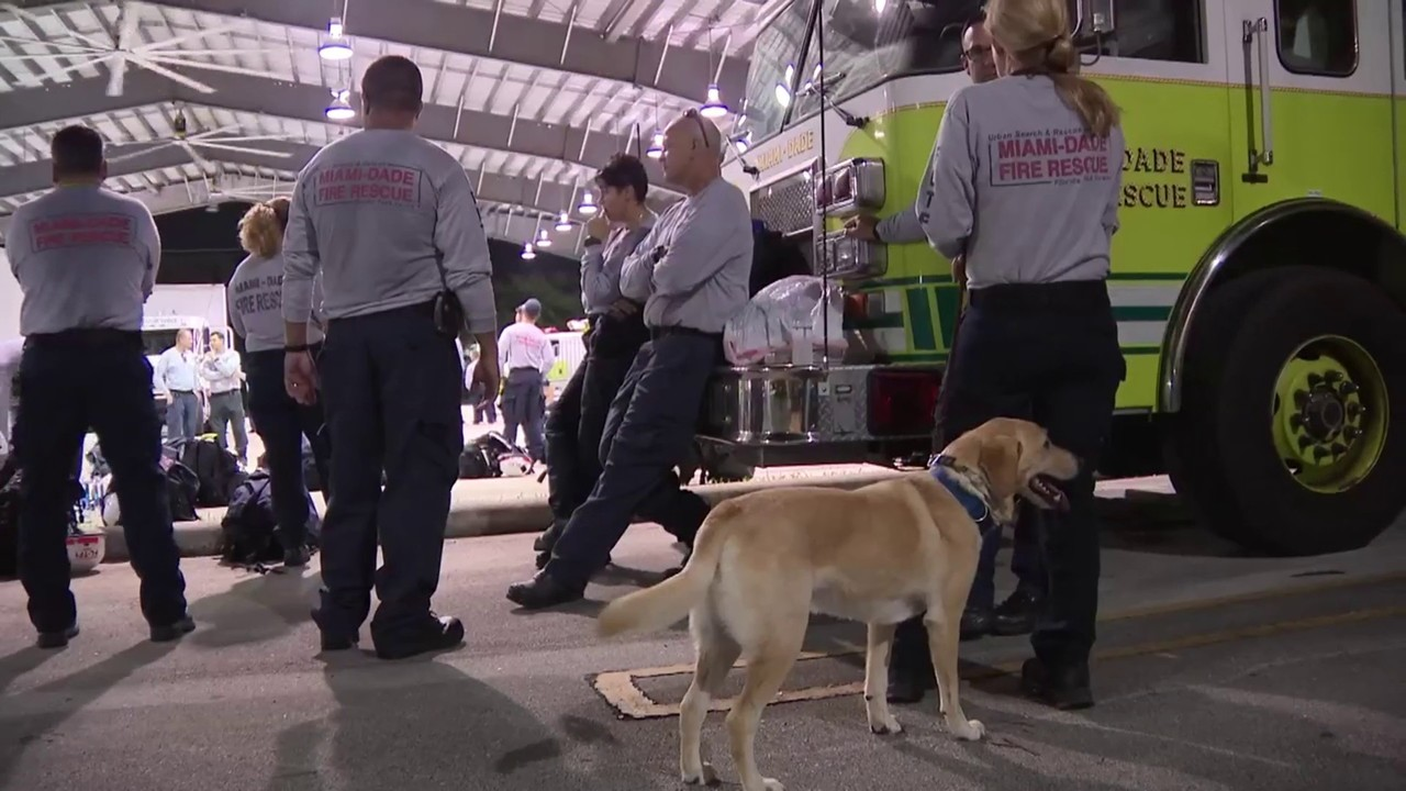 South Florida first responders head north to help those who...