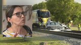 Driver recounts what happened before Brightline train slammed into her car