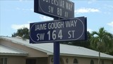 Street renamed in memory of teen killed at Southwood Middle School in 2004