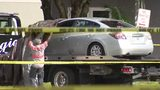 Car believed to be suspect's towed away after fatal shootout with police