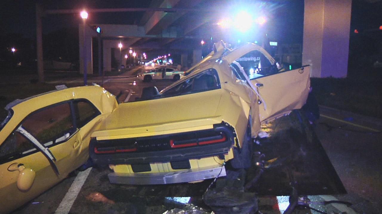Florida Car Accident: 1 Dead After Violent Crash Leaves Car In Pieces