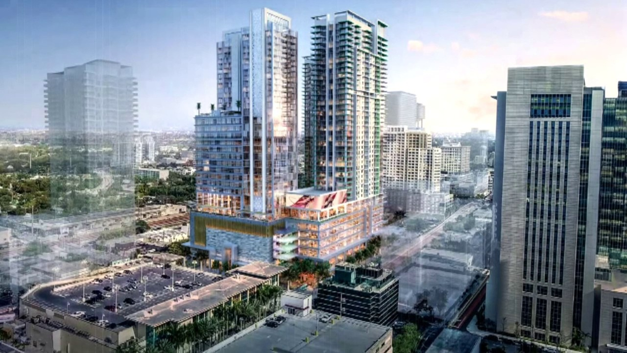 Video thumbnail for Plans for more high-rise towers draw concern in Fort  Lauderdale
