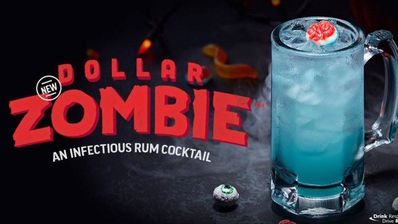 Applebee S Debuts 1 Zombie Cocktail For Halloween