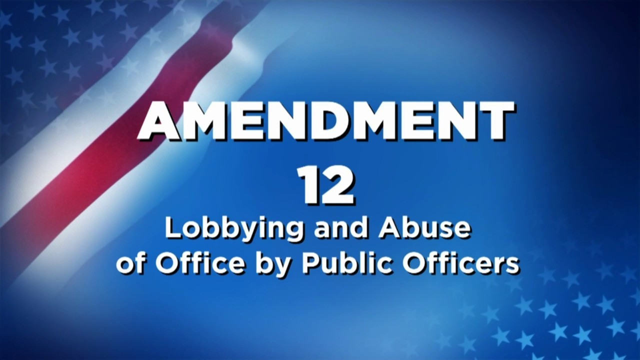 Vote 2018: Here is what Amendment 12 is about