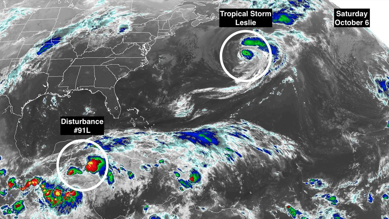 Tropical Disturbance Brewing In Caribbean Could Affect Gulf Coast