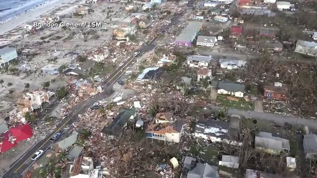 Video Thumbnail For Hurricane Michael Destroys Mexico Beach