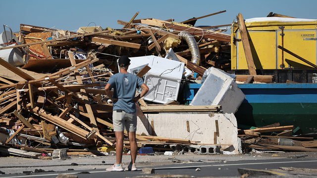 Hurricane Michael battered Florida as Category 5 storm