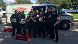 Florida cops celebrate after finding stolen Krispy Kreme delivery van