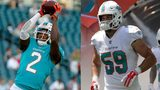 Dolphins re-sign safety Maurice Smith, place linebacker Chase Allen on IR