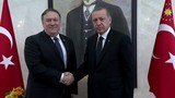 US secretary of state meets with Turkey president over journalist's death